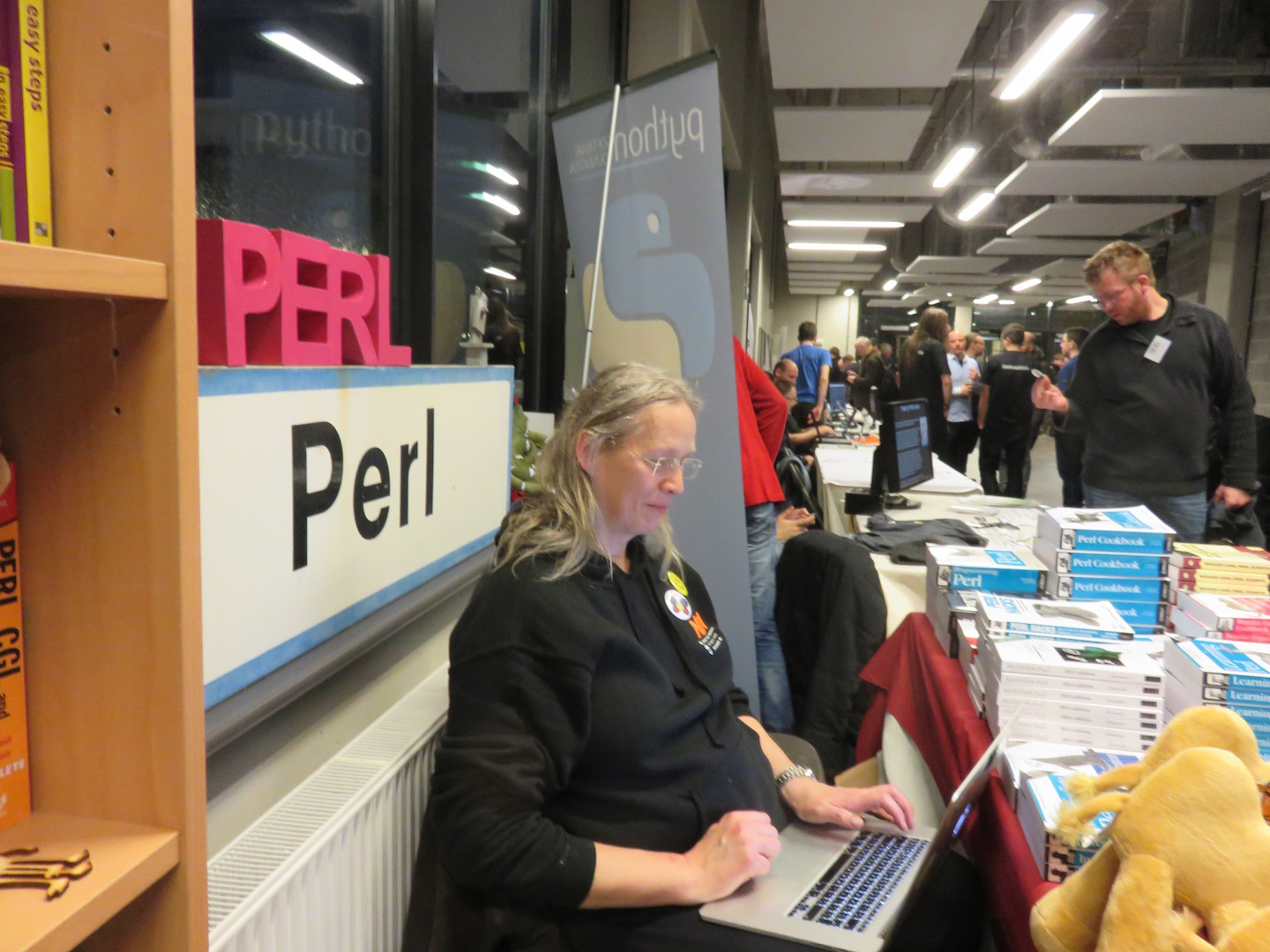 wendy manning a stall